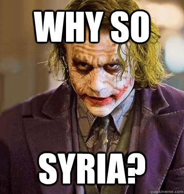 why so syria?
