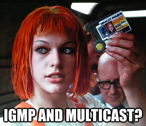 IGMP and Multicast?  multipass