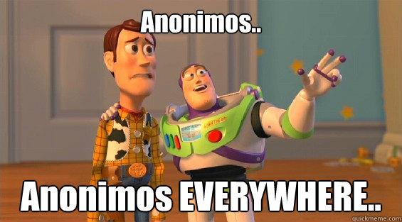 Anonimos.. Anonimos EVERYWHERE..  lambdas everywhere
