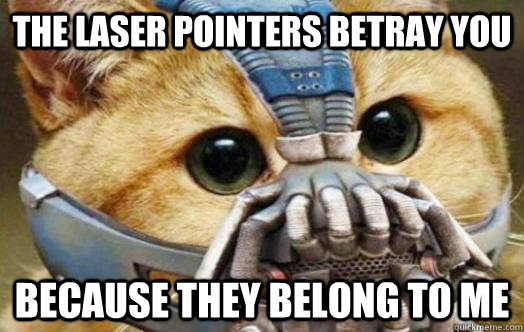 071486e1f5acebf1bc77178dbd033852f112865ab35c90b1afa3e68d99c854fb the laser pointers betray you because they belong to me bane,Laser Pointers Funny Airplane Meme