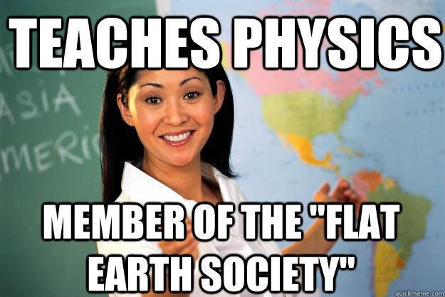 teaches physics member of the