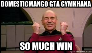 Domesticmango gta gymkhana   SO MUCH WIN