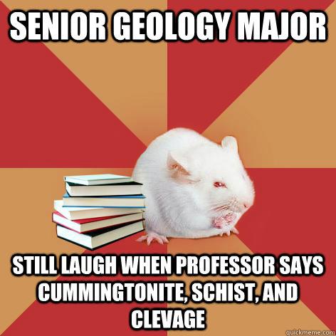 senior thesis geology