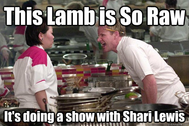 This Lamb is So Raw It's doing a show with Shari Lewis - This Lamb is So Raw It's doing a show with Shari Lewis  Misc