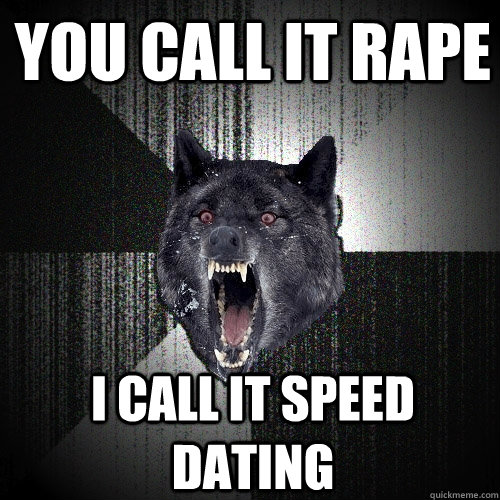 speed dating next meme