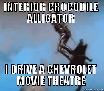 Interior crocodile alligator - quickmeme