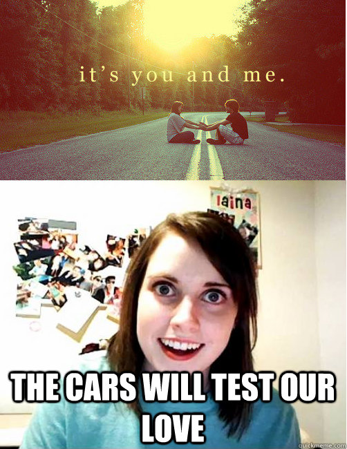 THE CARS WILL TEST OUR LOVE - THE CARS WILL TEST OUR LOVE  Misc