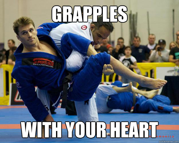 Grapples With your heart - Grapples With your heart  Ridiculously Photogenic Jiu Jitsu Guy