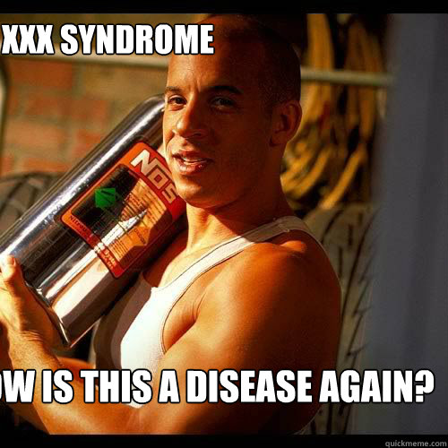 XXX Syndrome How is this a disease again?