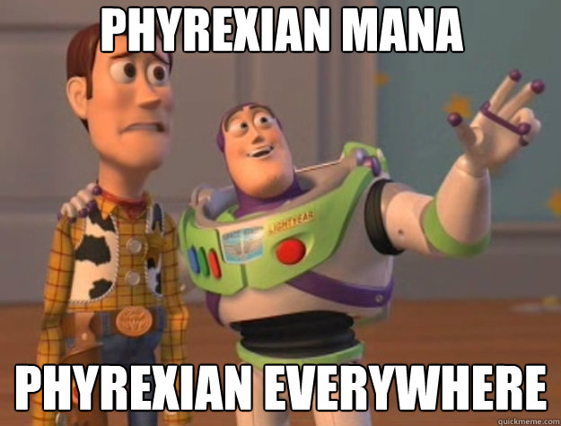 Phyrexian Mana phyrexian everywhere - Phyrexian Mana phyrexian everywhere  Toy Story