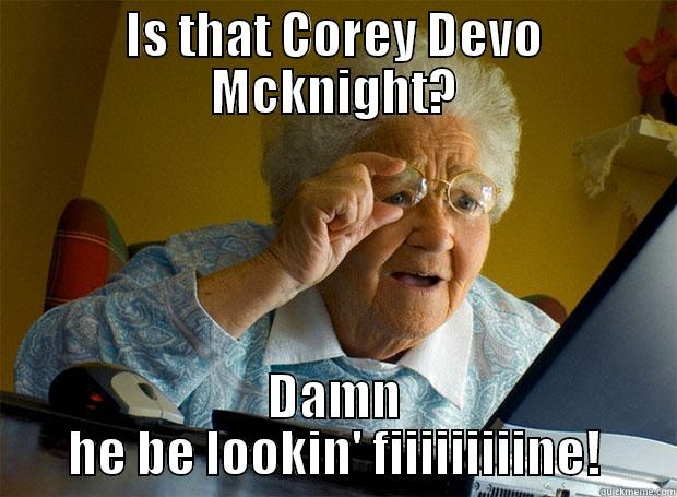 Old People Romance - IS THAT COREY DEVO MCKNIGHT? DAMN HE BE LOOKIN' FIIIIIIIIINE! Grandma finds the Internet