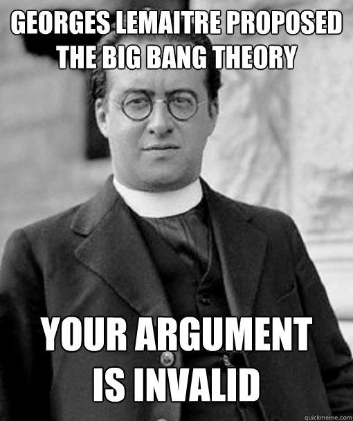 Your argument is invalid lemaitre invalid argument quickmeme