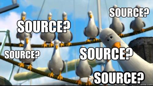 Source? Source? Source? Source? Source?