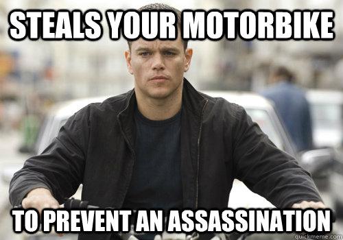 Misunderstood Jason Bourne Memes Quickmeme