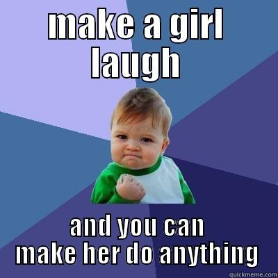 How To Talk To A Girl And Make Her Laugh