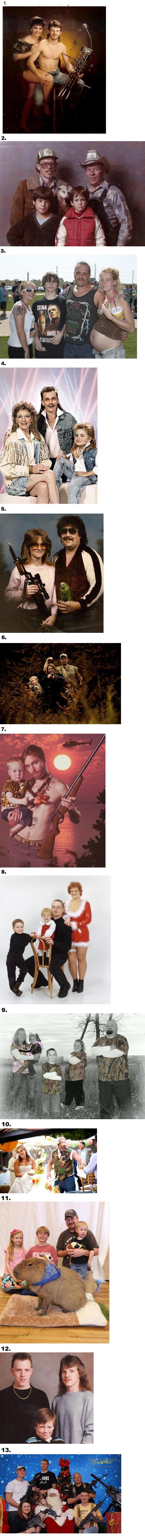 13 Amazing Redneck Family Portraits  -   Misc