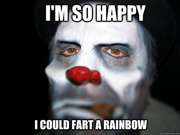 Image result for sad clown meme