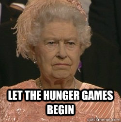 Let The Hunger Games Begin