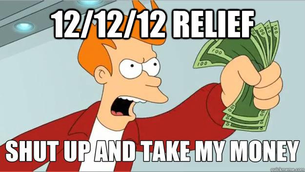 12/12/12 Relief