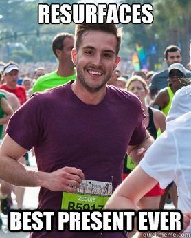 resurfaces best present ever - resurfaces best present ever  Ridiculously photogenic guy