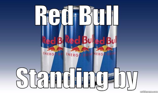 RED BULL STANDING BY Good Guy Redbull
