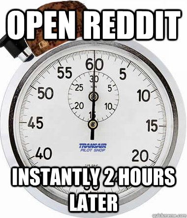Open reddit Instantly 2 hours later
