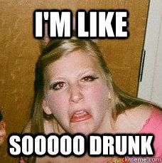 Drunk college chick