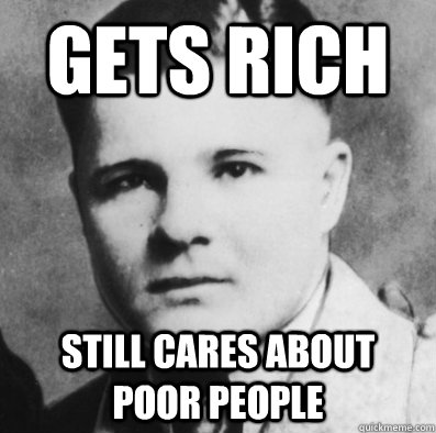 Gets Rich Still cares about poor people - Gets Rich Still cares about poor people  Misc