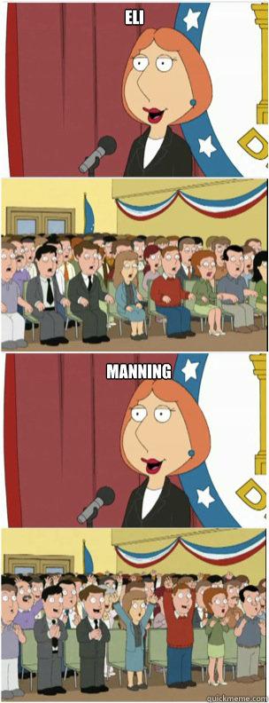 ELI MANNING - ELI MANNING  911 lois