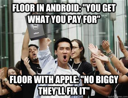 Floor in Android:
