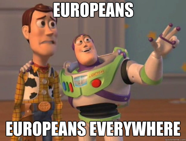 europeans europeans everywhere - europeans europeans everywhere  Toy Story