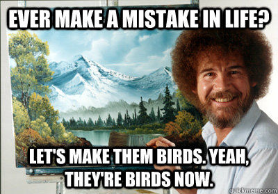 Image result for bob ross memes