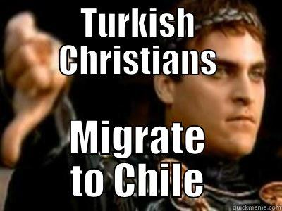 turkish christians migrate to chile