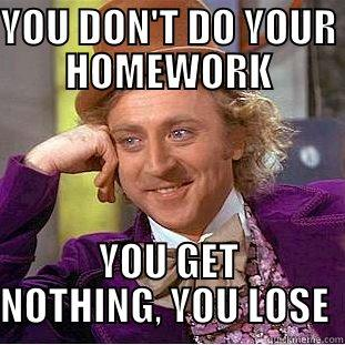 do you do your homework