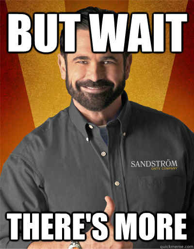 But wait There's more  Billy Mays