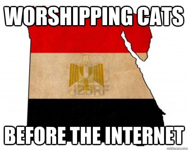 worshipping cats before the internet - worshipping cats before the internet  Misc