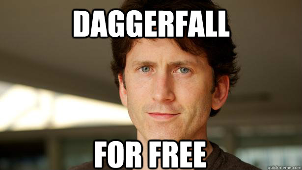Daggerfall for free