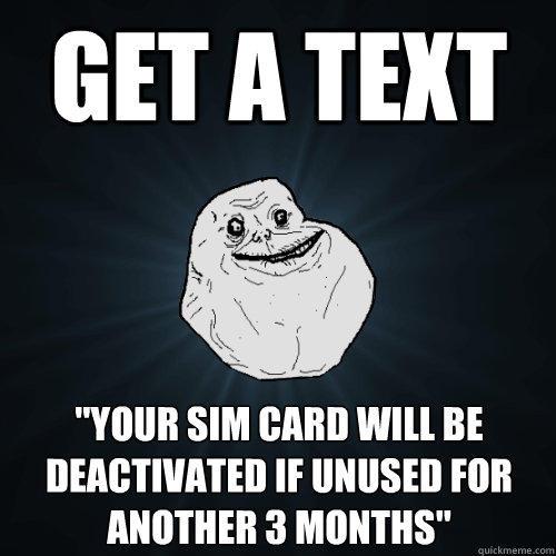 get a text
