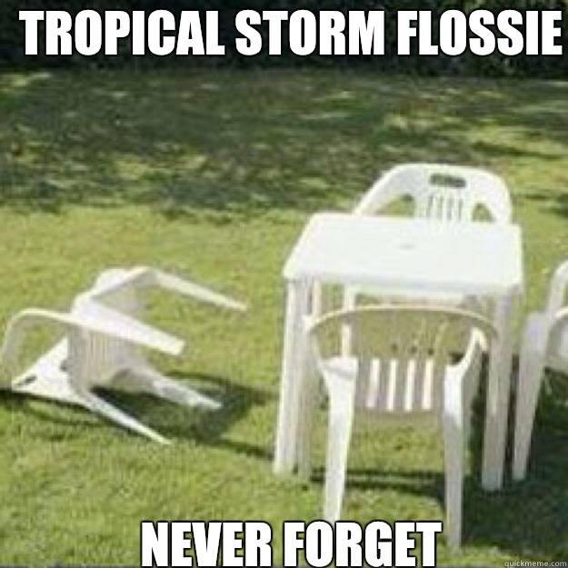 Tropical Storm Flossie never forget