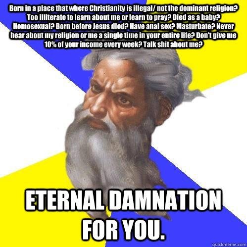 Jesus anal sex