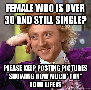 Dating in your 30s meme in Melbourne