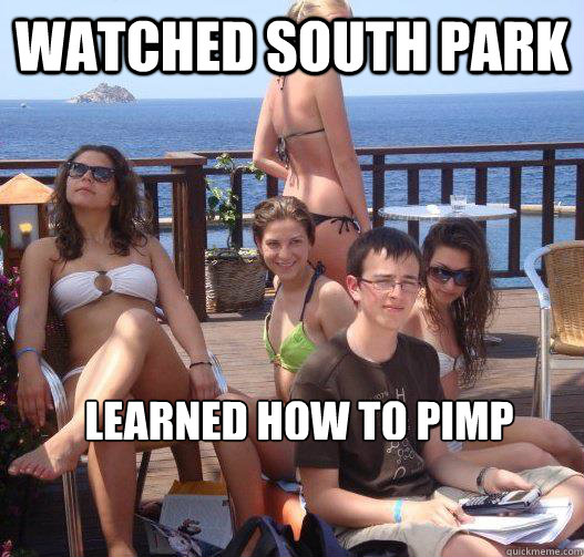 watched south park learned how to pimp   from butters - watched south park learned how to pimp   from butters  Priority Peter