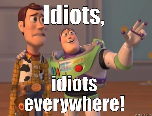 IDIOTS, IDIOTS EVERYWHERE! Toy Story