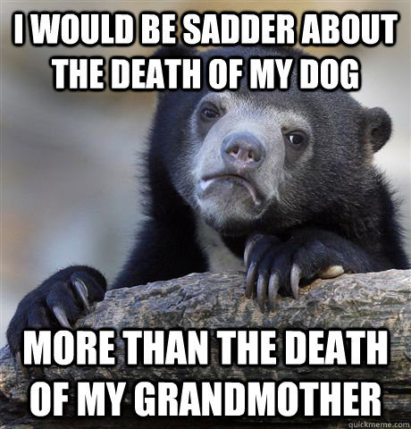 the death of my grandmother a My grandmother died because of an illegal  maria's grandchildren knew she had died an awful death,  i asked my mother if my grandmother had died of a bungled.