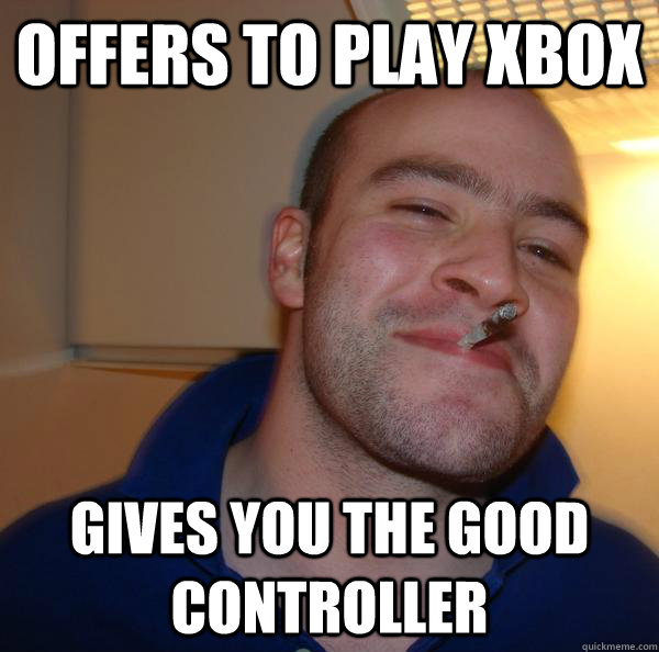 Offers to play xbox gives you the good controller - Offers to play xbox gives you the good controller  Misc