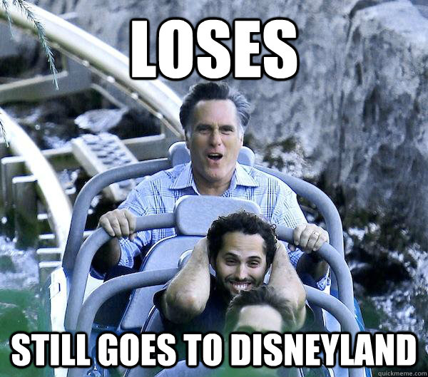Loses Still Goes to Disneyland