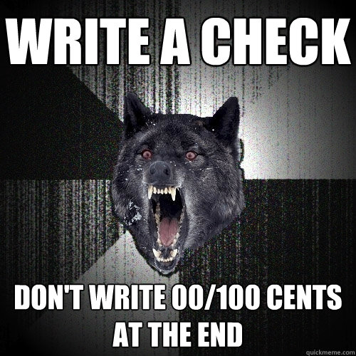 How to write a good application 0 cents