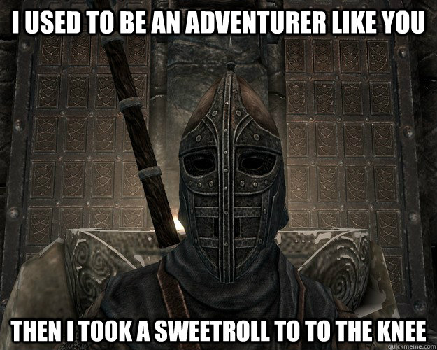 I Used To Be An Adventurer Like You Then I Took A