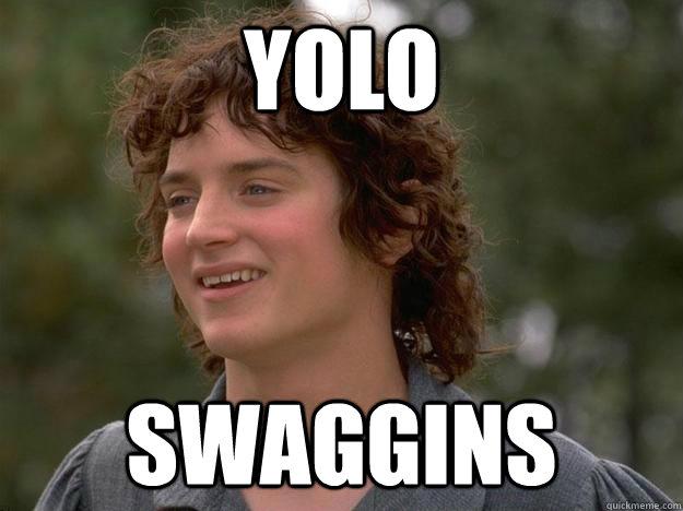 YOLO SWAGGINS  yolo swaggins