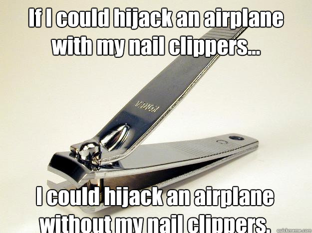 Deadly Nail Clippers